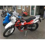 SWM SuperDual 600x motorcycle, Unregistered and no certificate of conformity held, VIN: