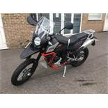 SWM SuperDual 600 T GT Pack motorcycle, Unregistered and no certificate of conformity held, VIN: