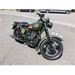 Mash Force 400 motorcycle, Year of Manufacture: 2019, Unregistered and no certificate of