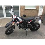 Rieji MRT3 motorcycle, Unregistered and no certificate of conformity held, VIN: VTPMRT32C00L17686