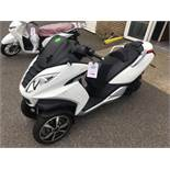 Peugeot Metropolis 400 ABS moped, Unregistered and no certificate of conformity held, VIN: