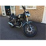Mash Fifty 50 motorcycle, Unregistered and no certificate of conformity held, Year of Manufacture: