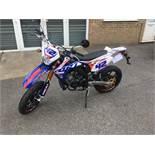 Rieji MRT3 motorcycle, Unregistered and no certificate of conformity held, VIN: VTPMRT32C00L17662
