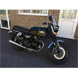 Mash Black Seven 125 motorcycle, Registration number: HF69 XYP, Date of Registration: 18/10/2019,