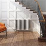 (DD47) 600x628mm White Triple Panel Horizontal Colosseum Traditional Radiator. RRP £442.99. Fo...
