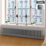 (DD16) 300x1458mm York Earl Grey Triple Panel Radiator Colosseum. RRP £569.99. For an elegant...
