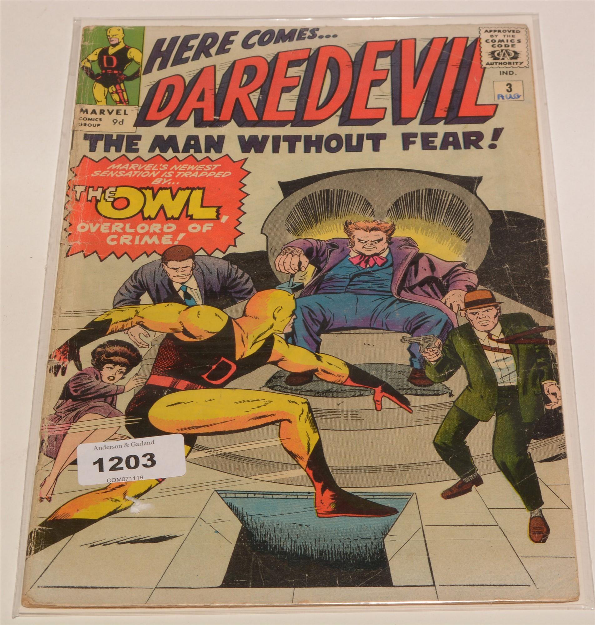 The Silver Surfer No. 5 and Daredevil No. 3. - Image 2 of 2