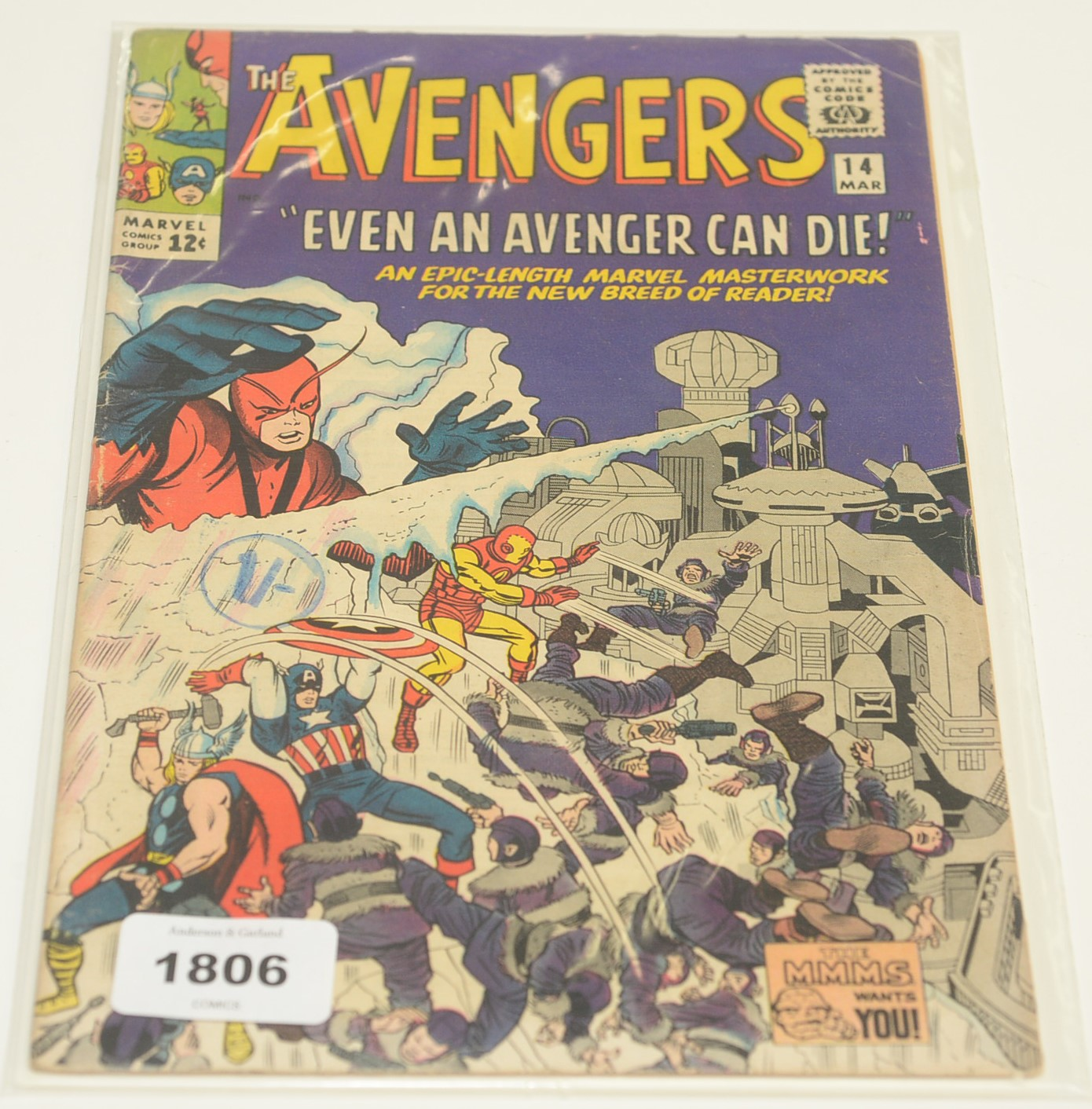 The Avengers No's. 3, 5, 11, 13, 14, 17 and 18 - Image 5 of 7