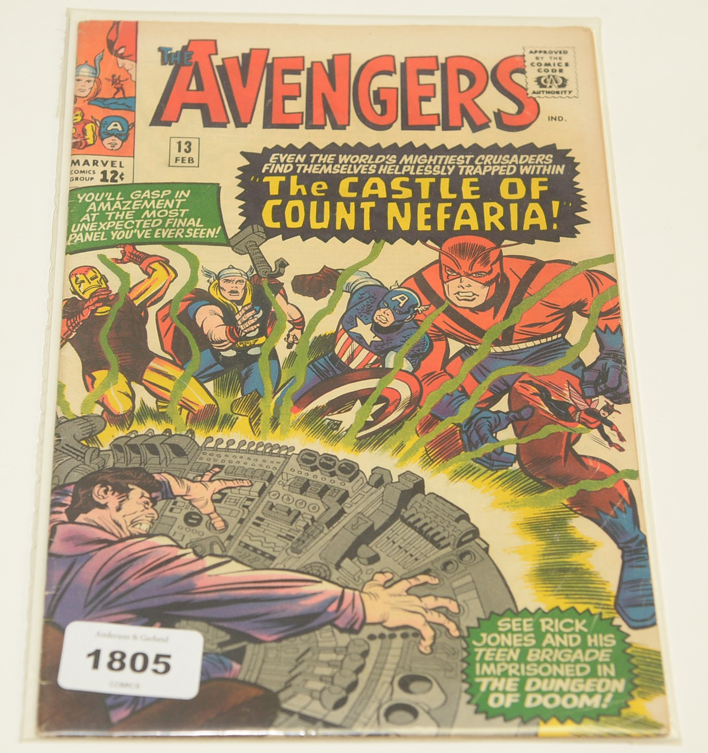 The Avengers No's. 3, 5, 11, 13, 14, 17 and 18 - Image 4 of 7