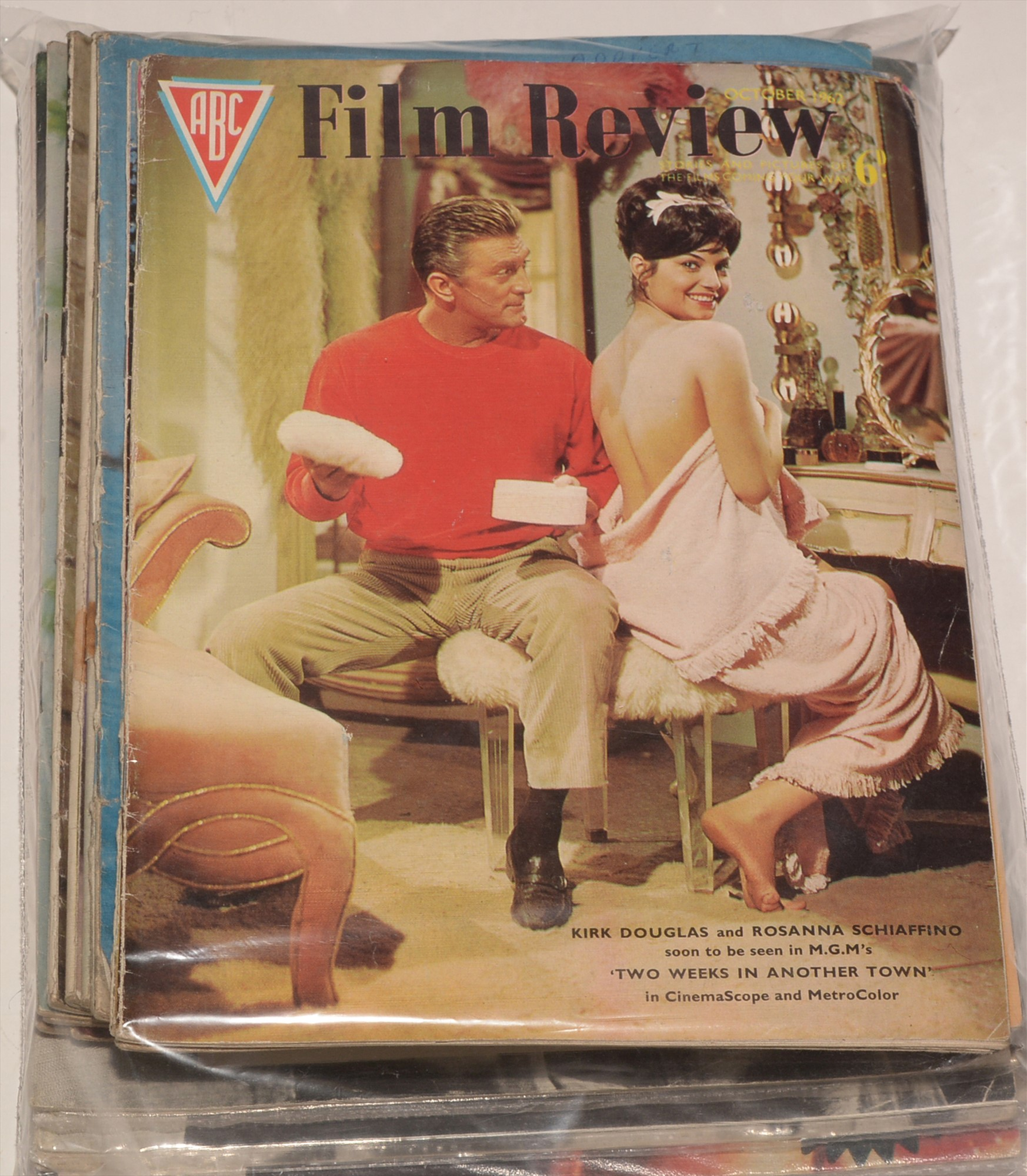 Film Review sundry 1960's issues and other movie-related publications