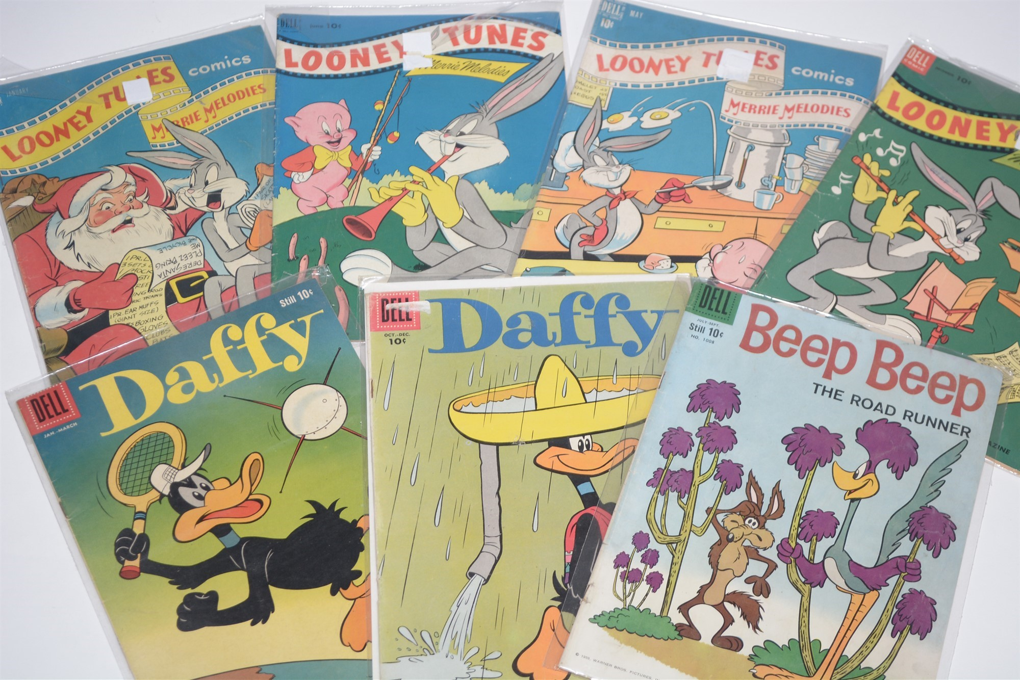 Dell Comics, humour titles including: Road Runner, Daffy and Looney Tunes: and New Funnies Woody - Image 4 of 4