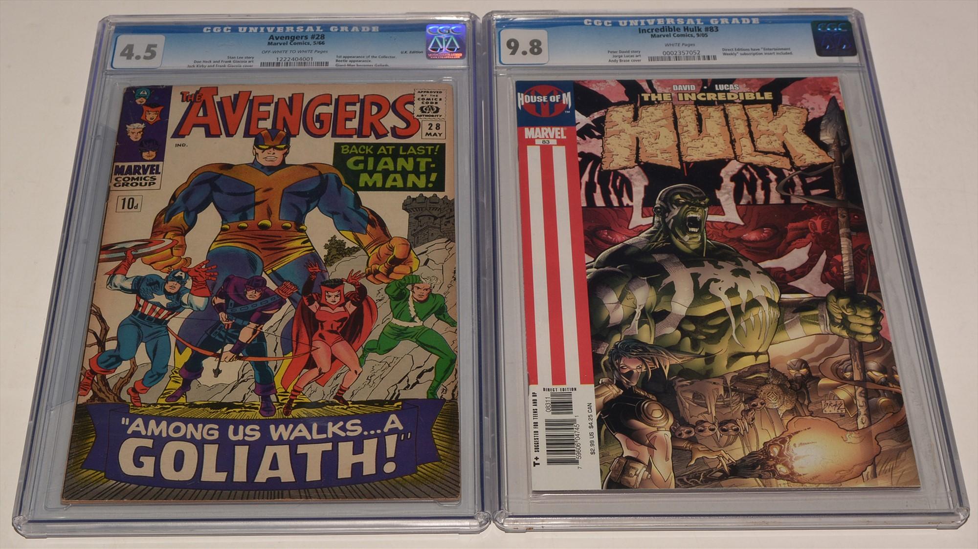 The Avengers No. 28 / Incredible Hulk No. 83