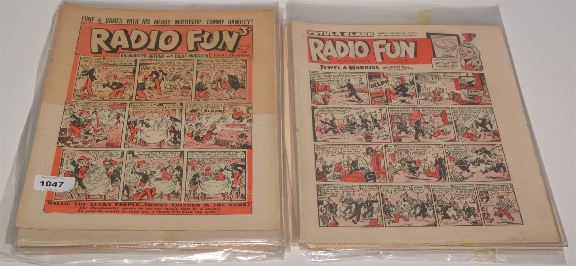 Film Fun sundry issues from the period 1943-59. (37) and Radio Fun sundry issues from the period - Image 2 of 2