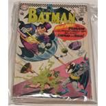 Batman No's. 190, 191, 192, 193, 194, 195, 196 and 199.