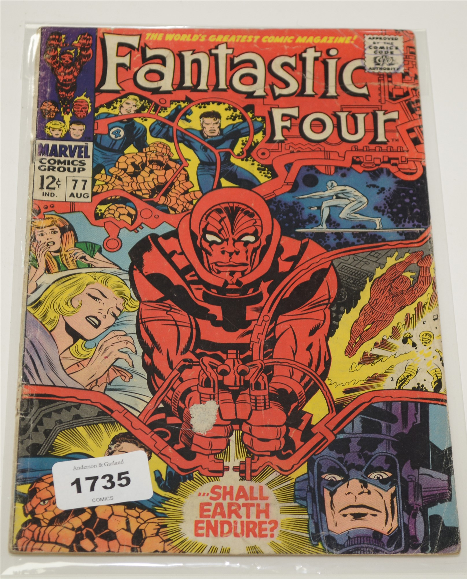 Fantastic Four No's. 60, 68, 77, 85, 87, 88, 90, 91, 92, 93 and 94. - Image 2 of 4