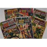 Tales of Suspense No's. 67, 68, 69, 78, 79 and 80.