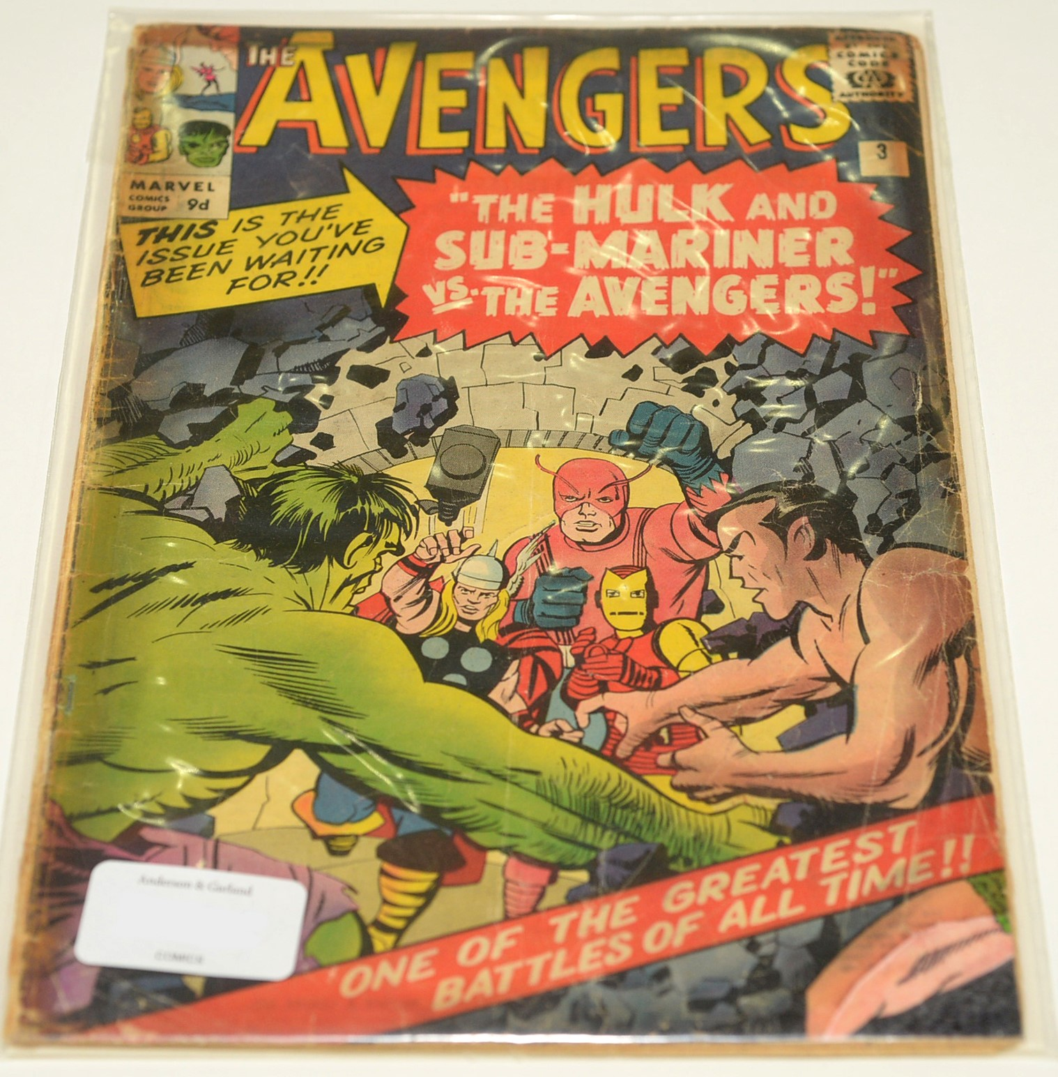 The Avengers No's. 3, 5, 11, 13, 14, 17 and 18 - Image 7 of 7