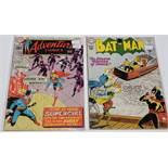 Batman No. 140 and Adventure Comics (Supergirl) No. 381.
