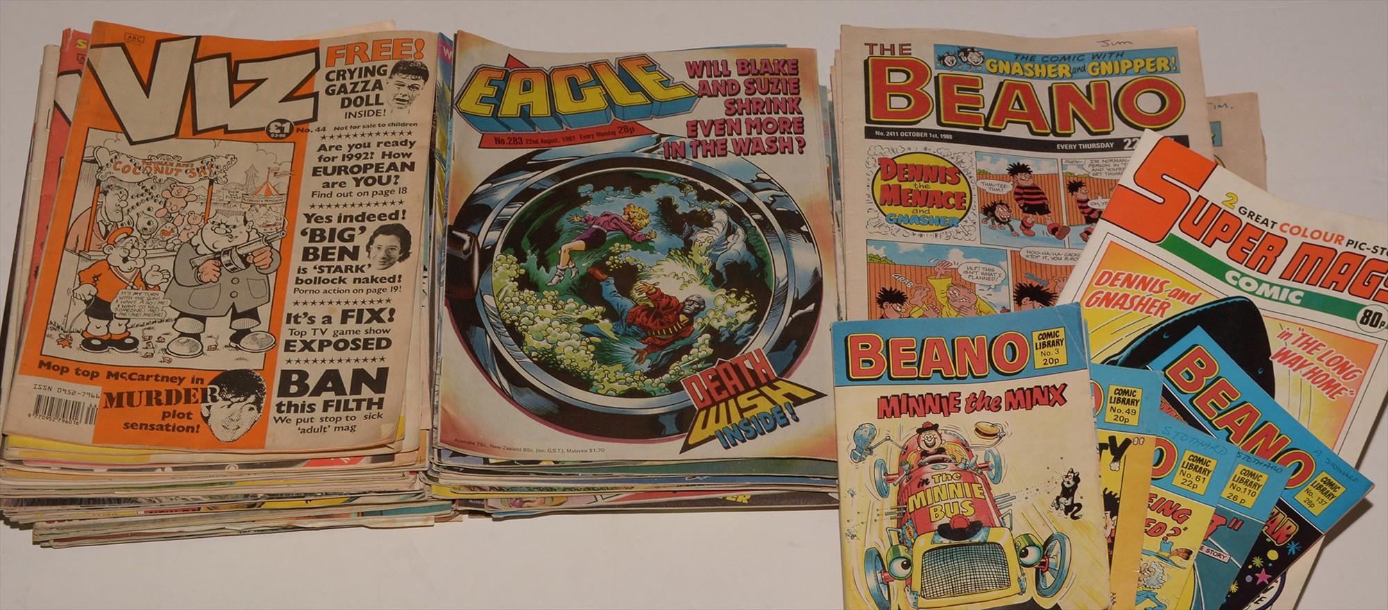 Viz and other comics.