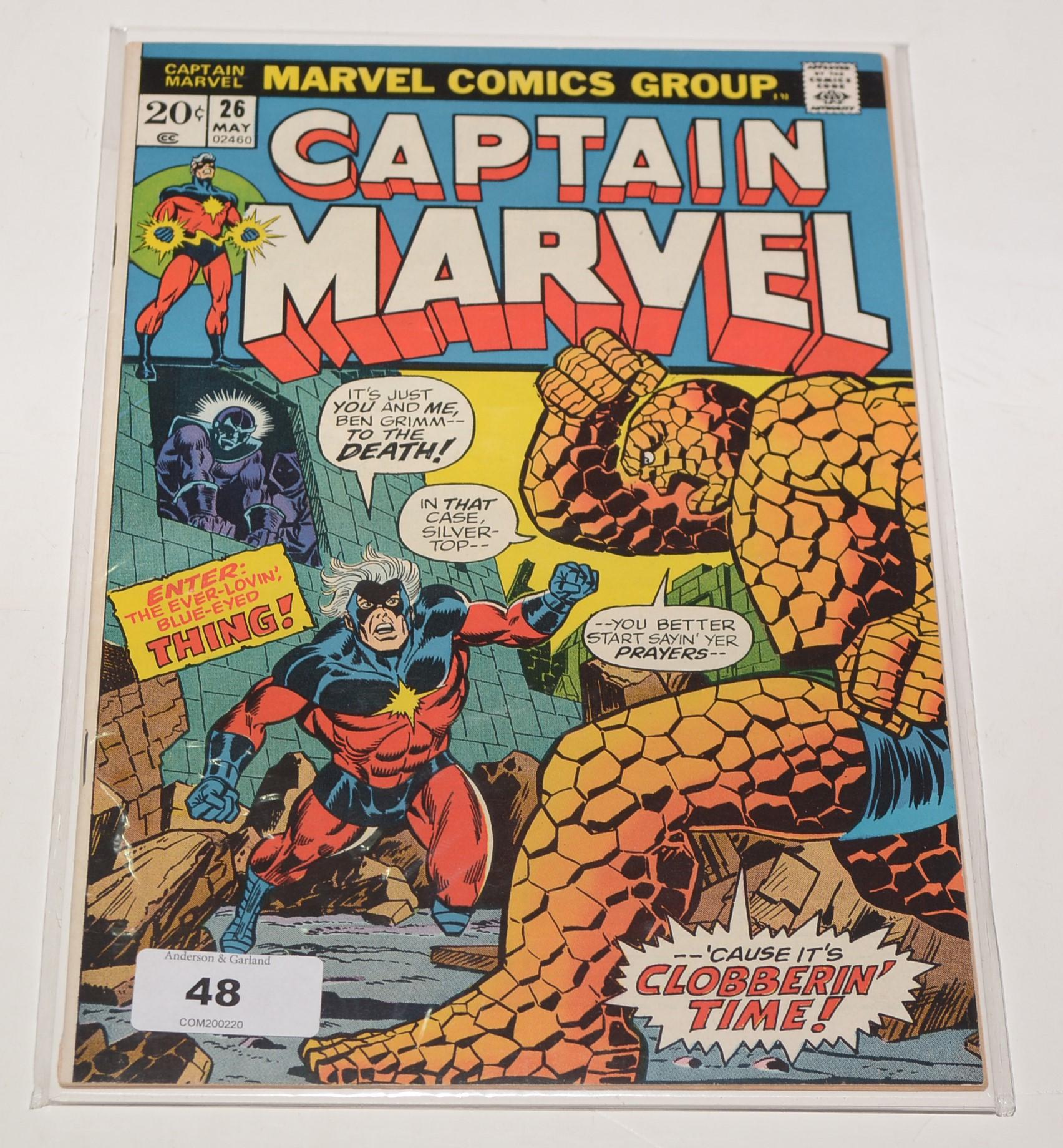 Captain Marvel No. 26