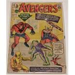 The Avengers No.2 Comic