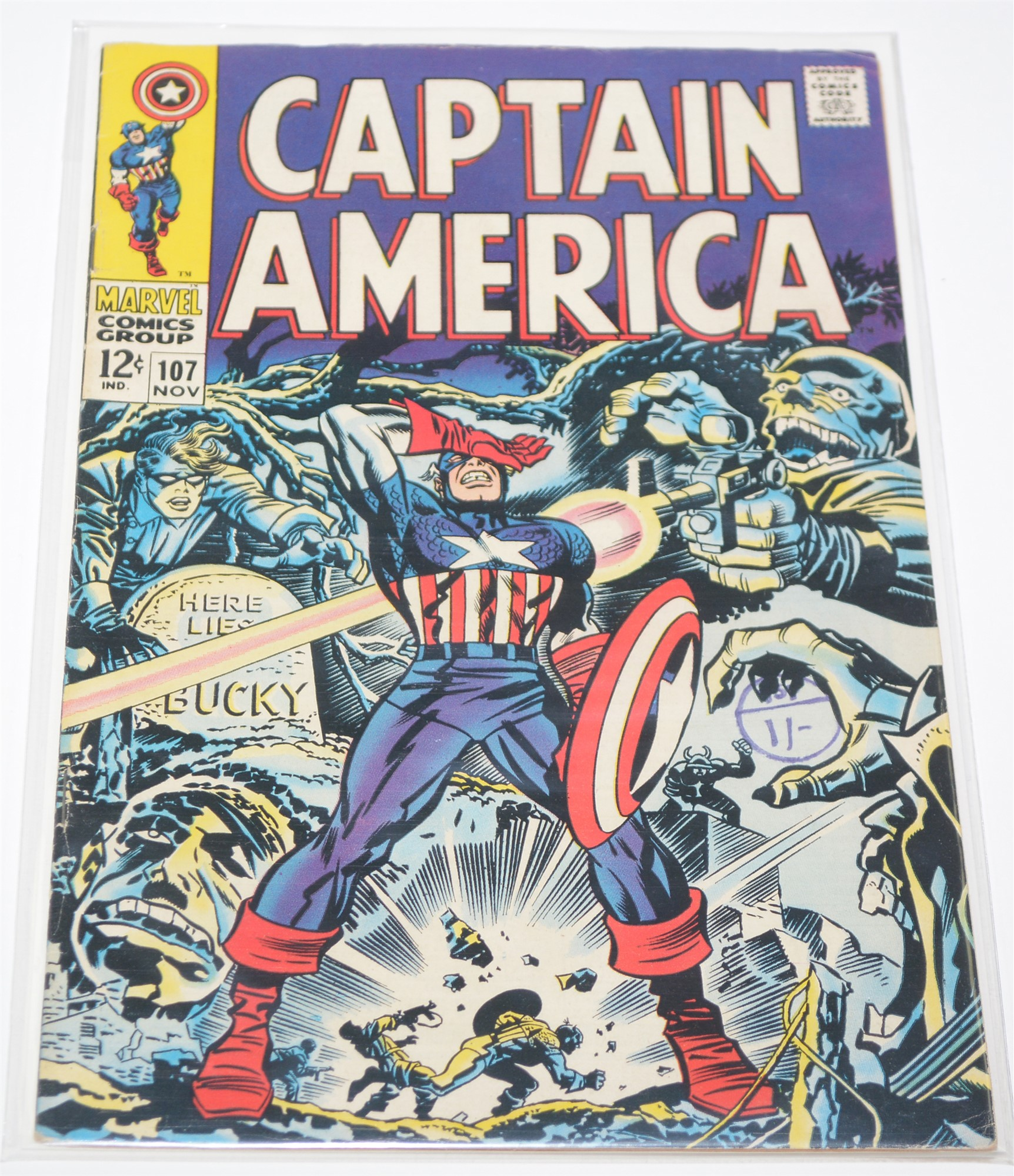 Captain America No. 101, 103, 104 and 107. - Image 4 of 4