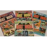 Batman No's. 255, 256, 257 and 258