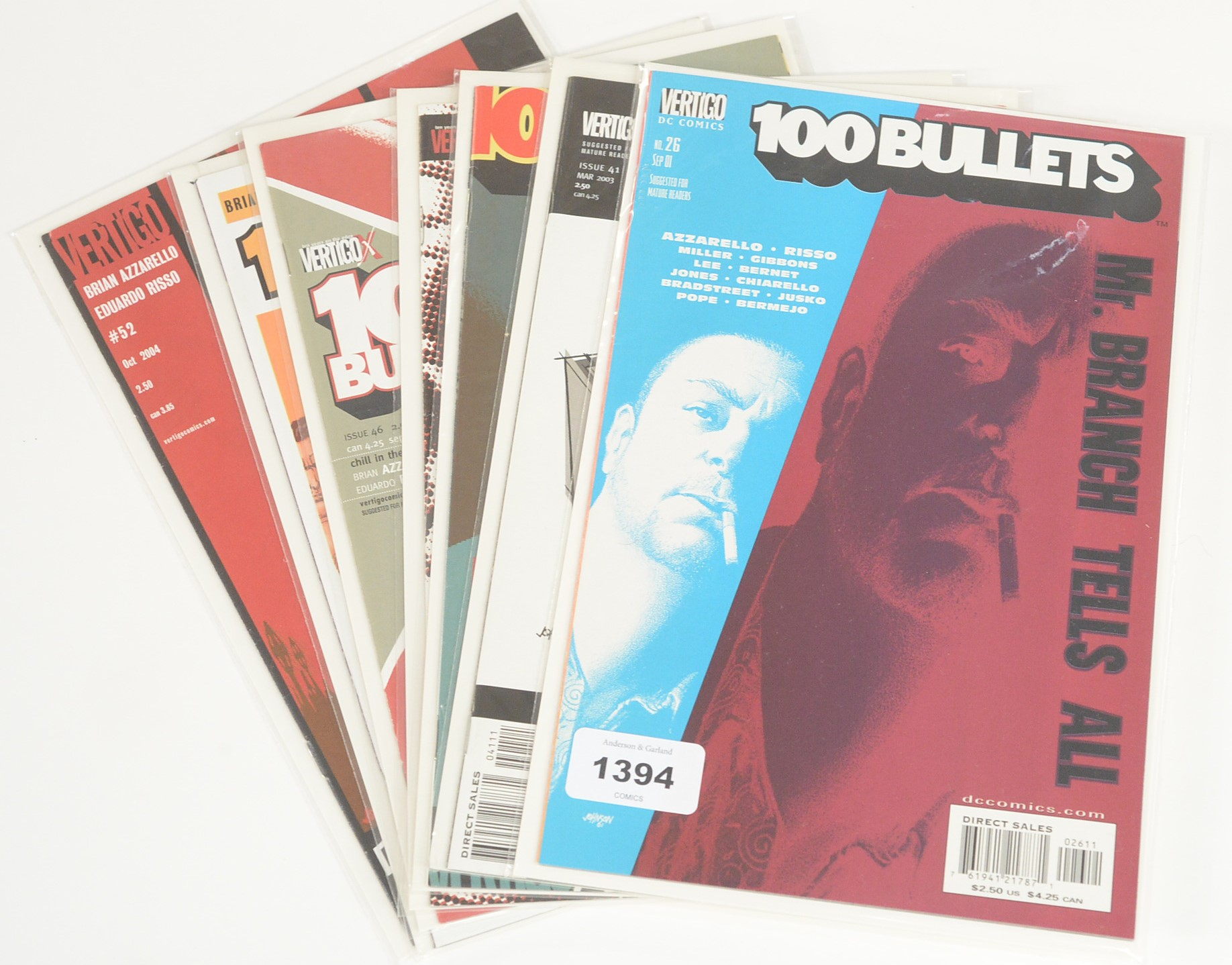 The Preacher by DC Vertigo; and 100 Bullets, sundry issues - Image 2 of 2