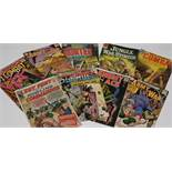 Sgt. Fury and His Howling Commandos and other comics.