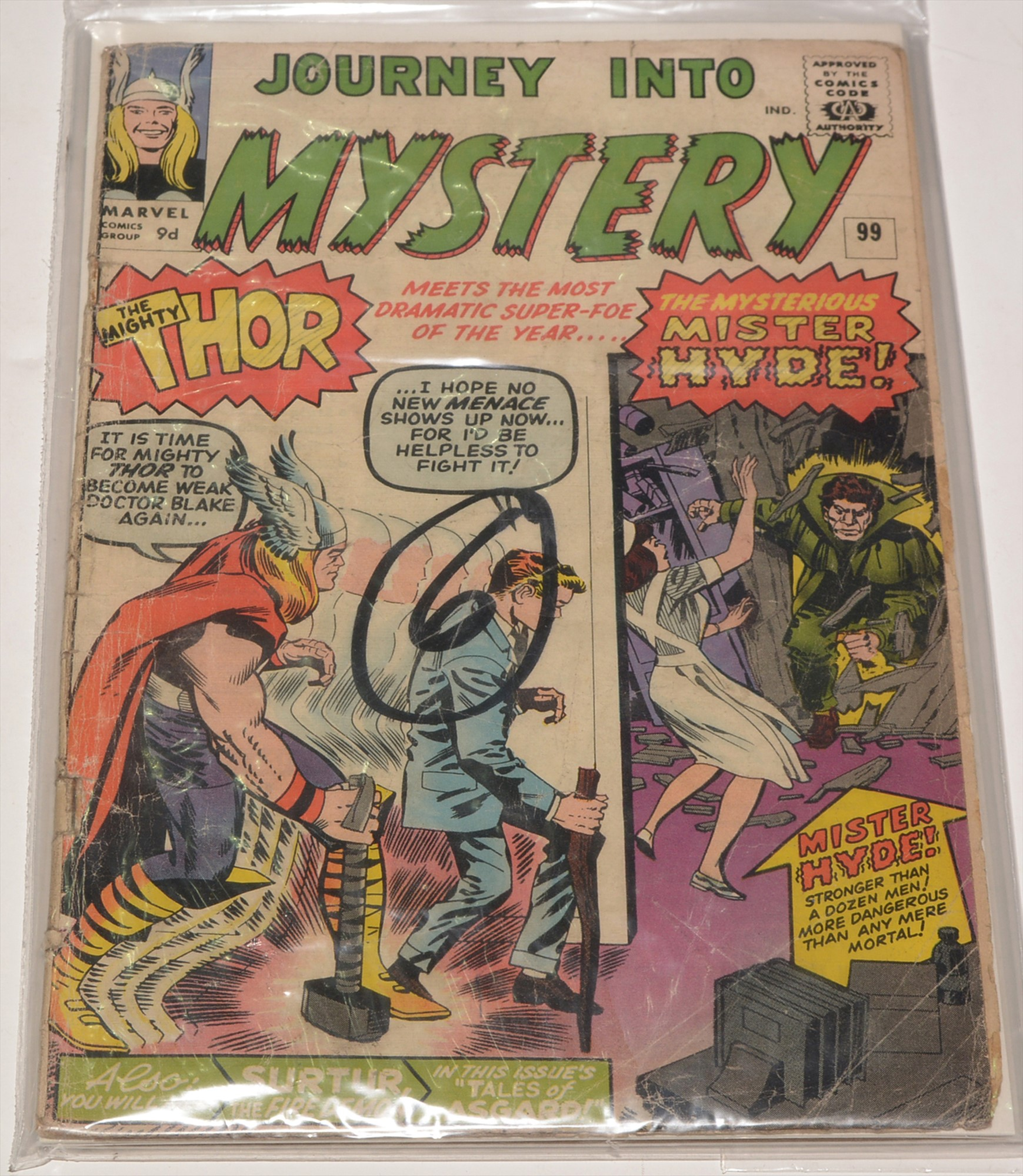 Journey into Mystery No. 99; and The Mighty Thor No. 131