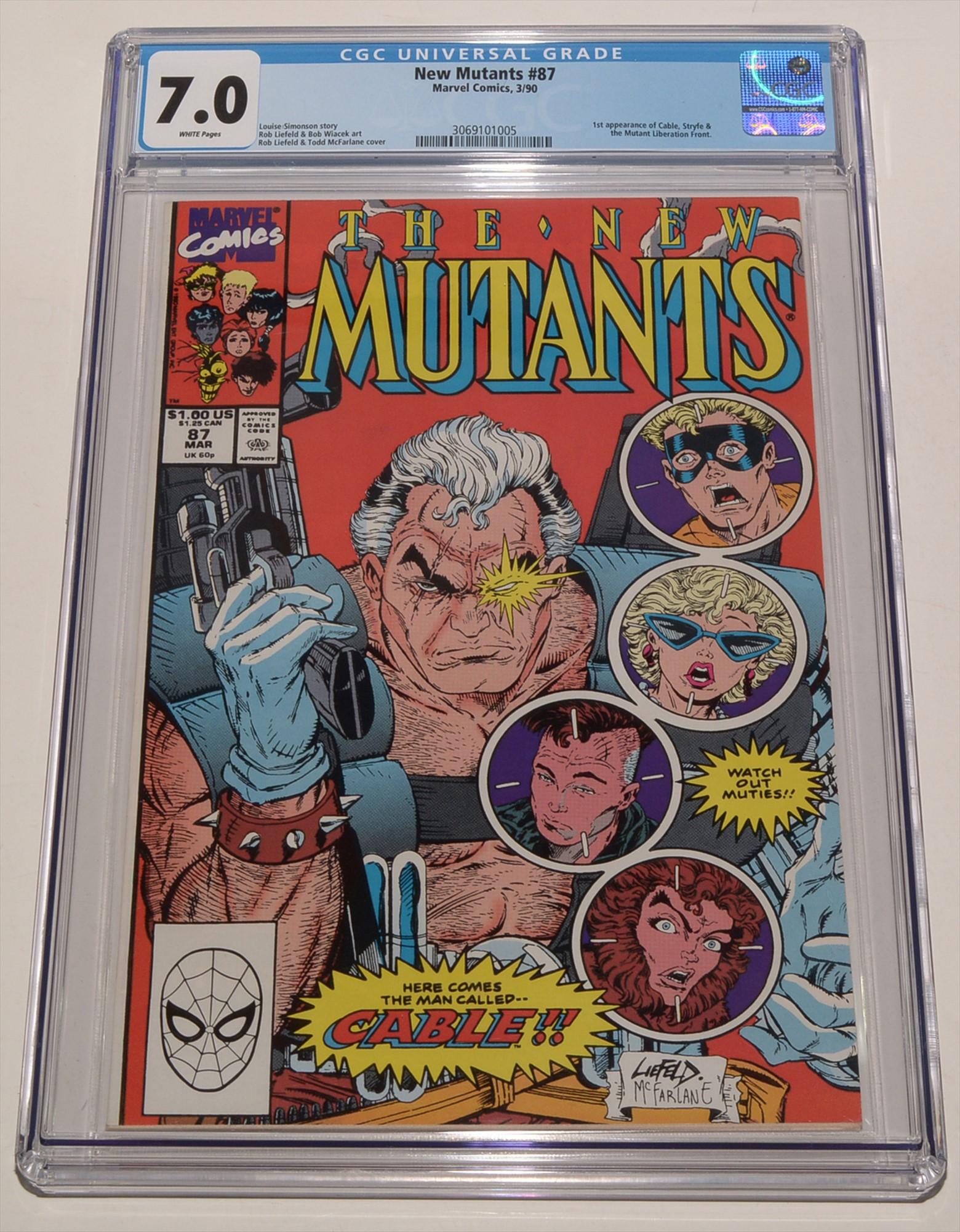 New Mutants No. 87