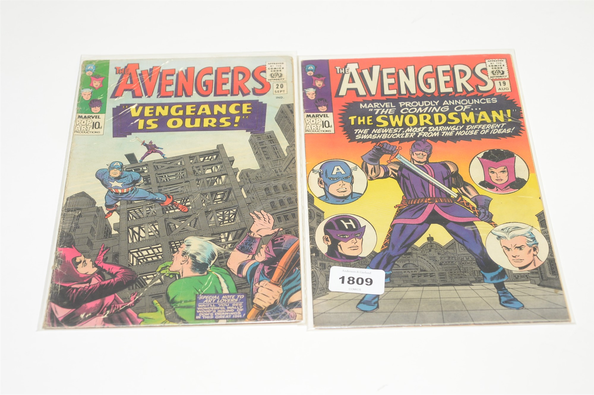 The Avengers No's. 3, 5, 11, 13, 14, 17 and 18 - Image 6 of 7