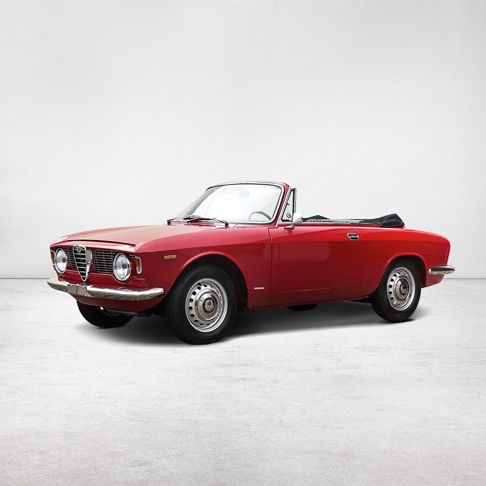 Alfa Romeo Giulia GTC Convertible, Model 1965Alfa Romeo