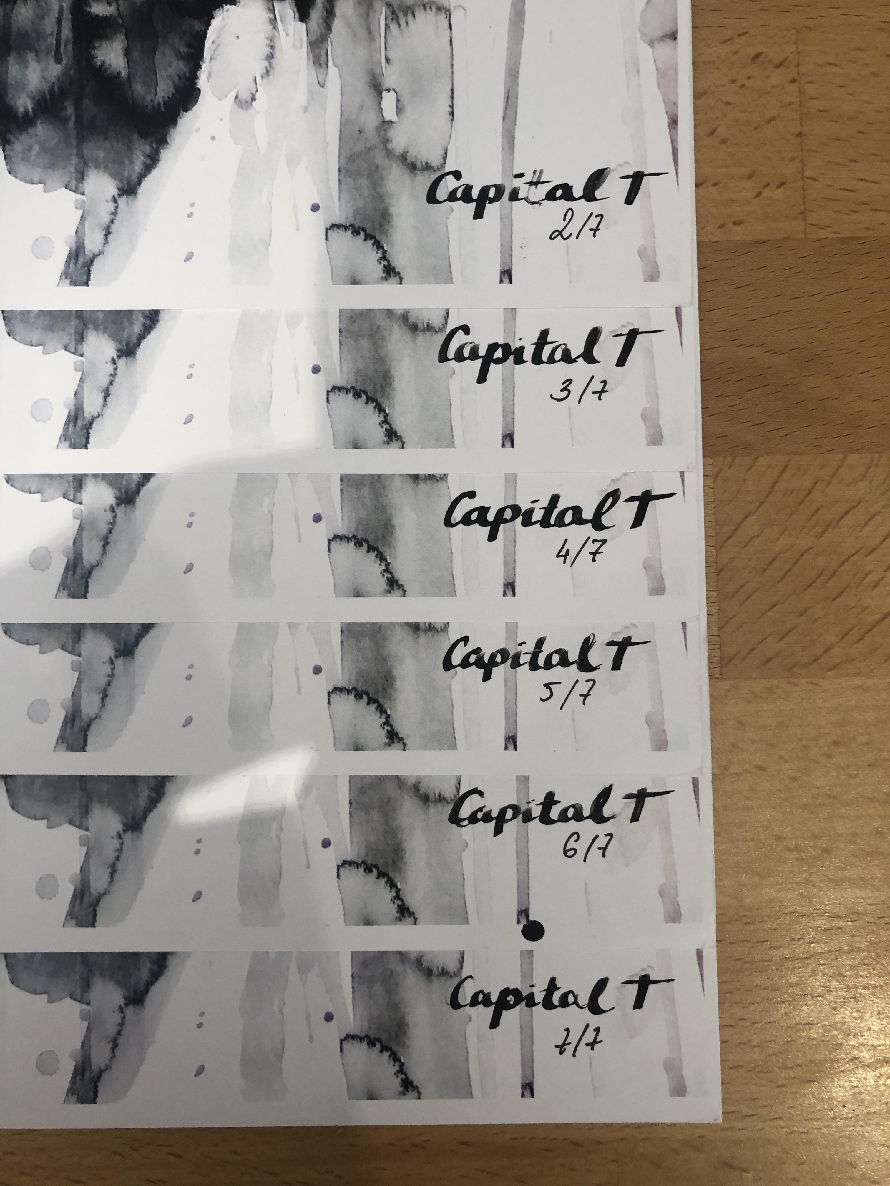 Lot 43 - Capital T Limited Edition Print 'S**T's Getting Surreal