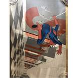 Doaly Spiderman signed print