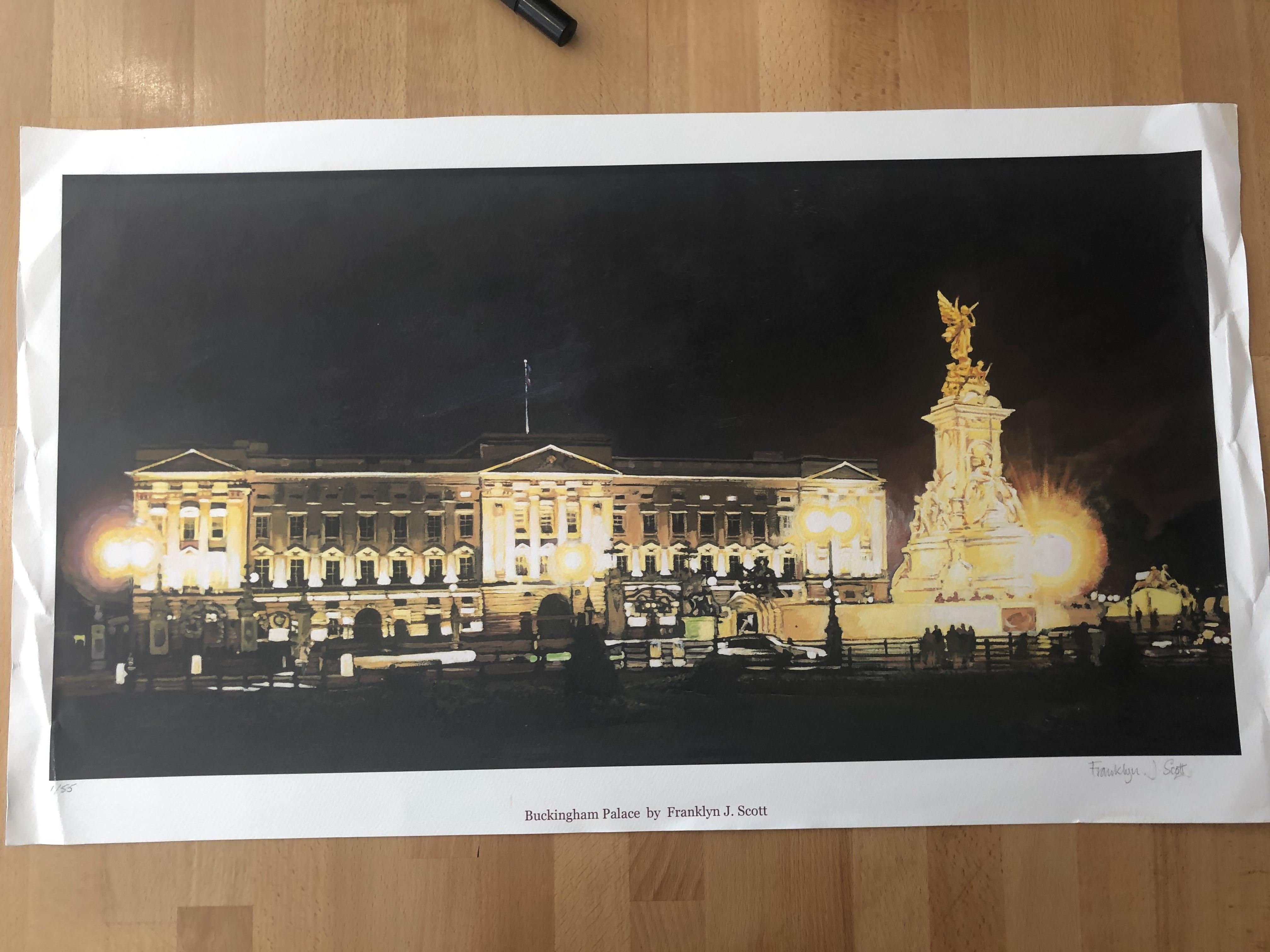 Lot 25 - Franklyn J Scott Limited Edition Prints Signed. 3 x Buckingham Palace