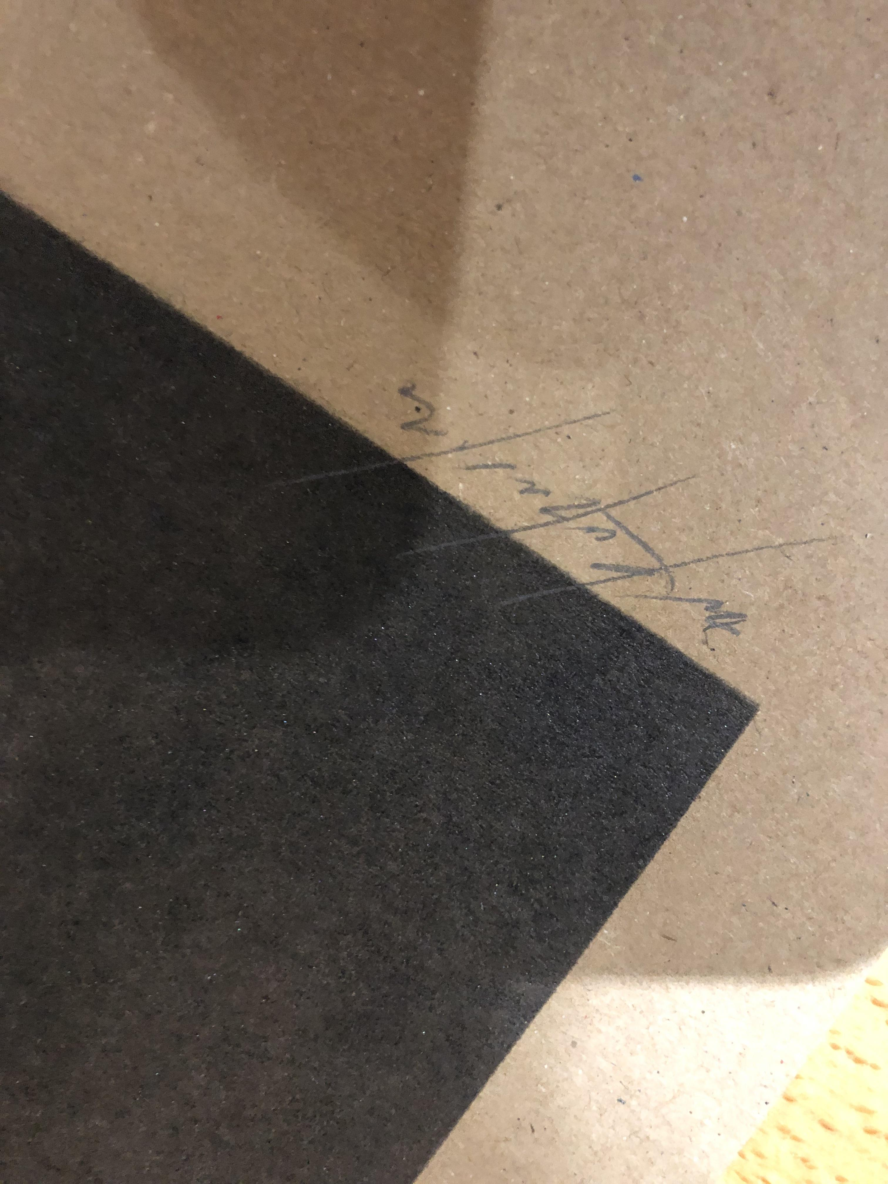 Lot 38 - Two Glass Siren Studio Prints Signed