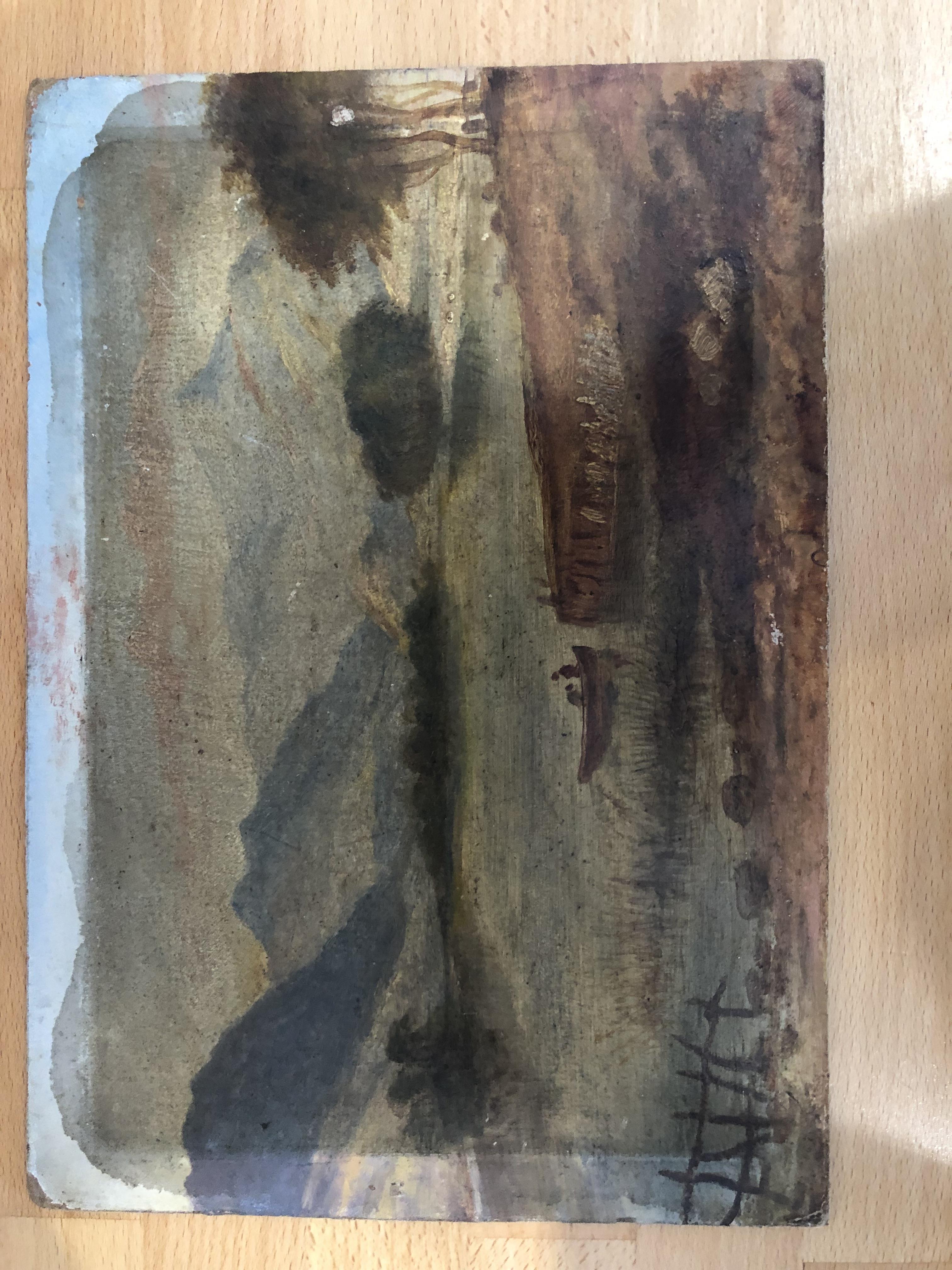 Lot 47 - Original Painting, unknown artist