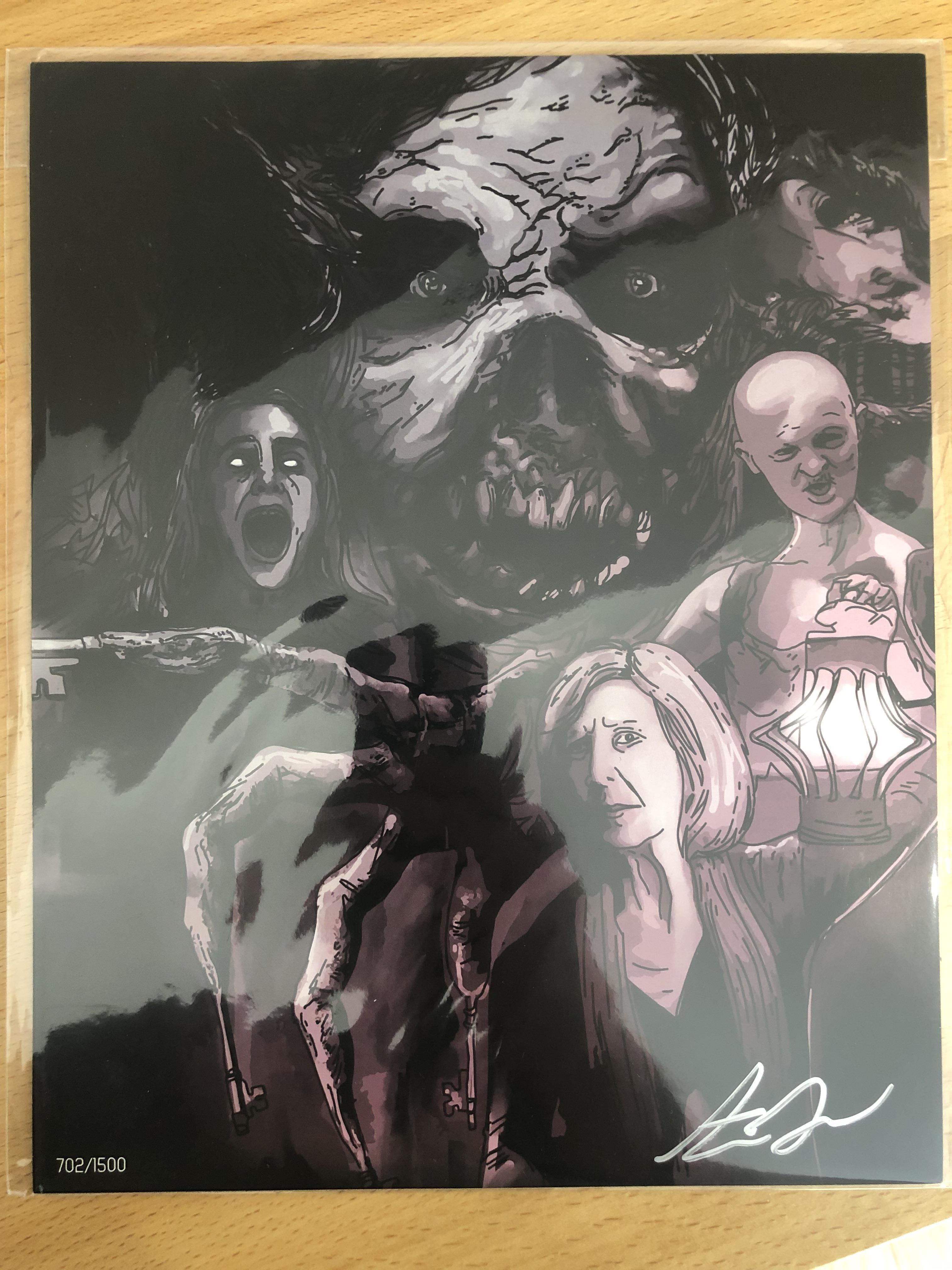 Lot 44 - 6 x The Bam Box Limited Edition Prints Signed.