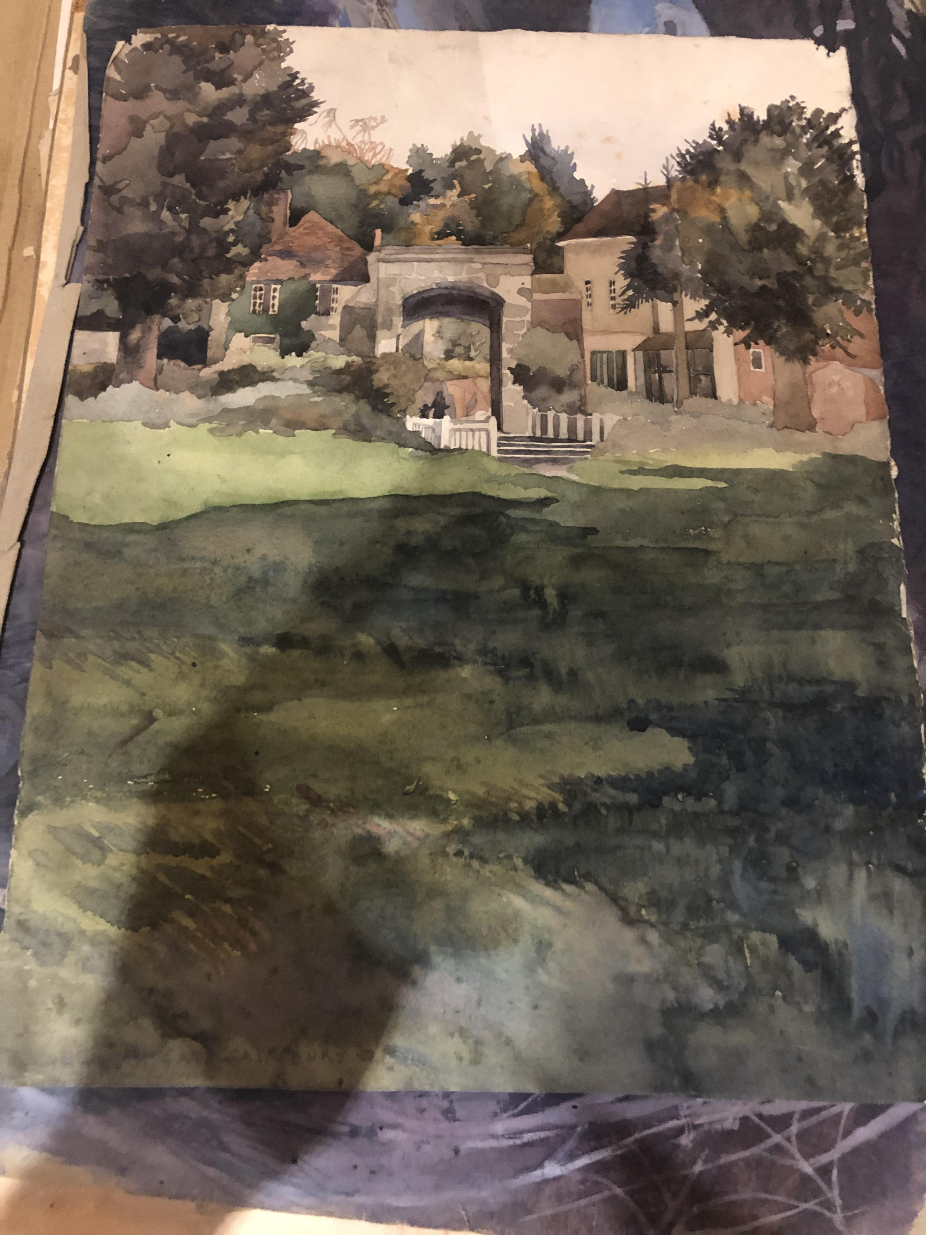 Lot 8 - 1940/50's Artist Portfolio