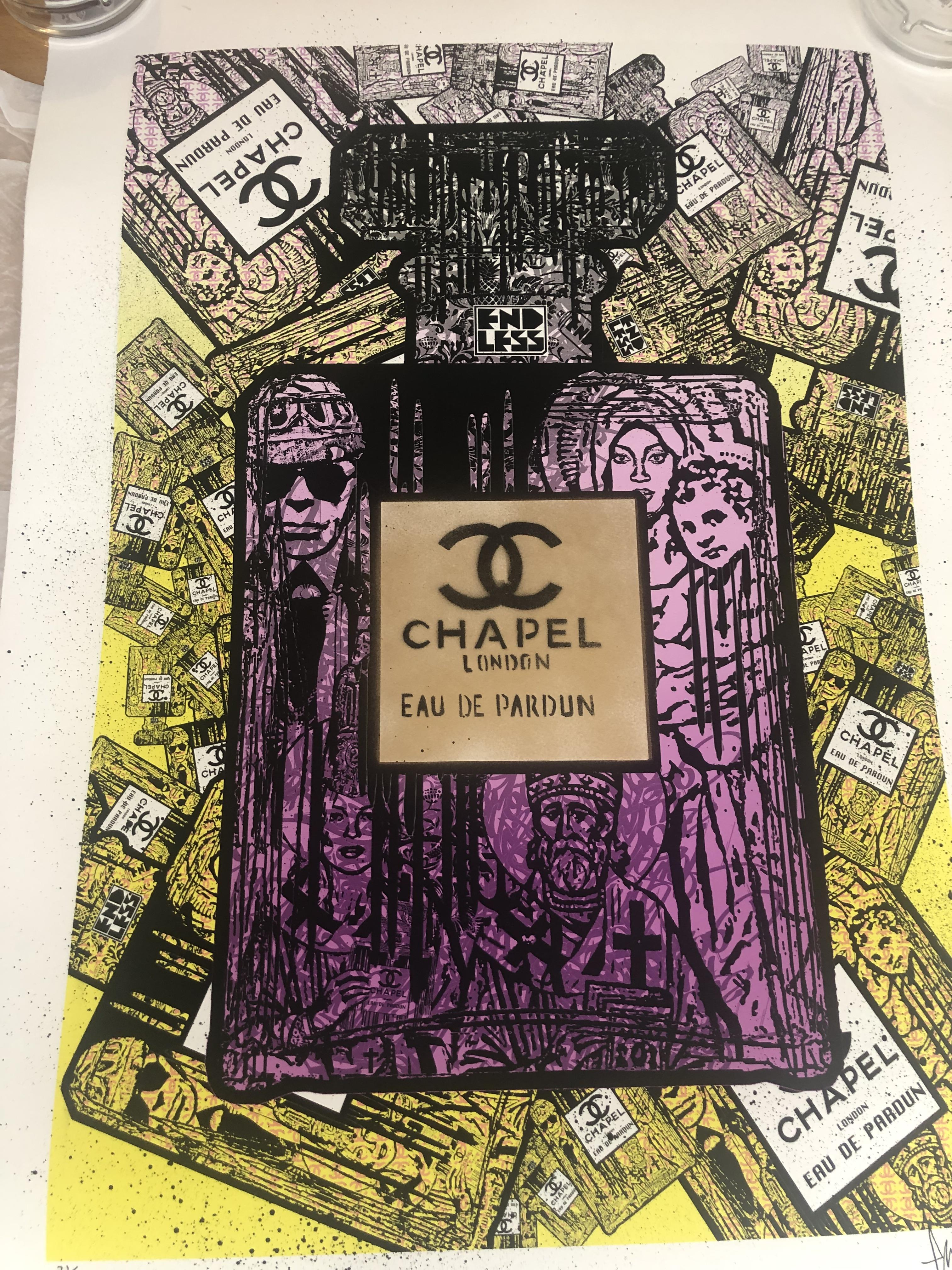 Lot 5 - Endless Artist Limited Edition Print, Chapel Purple Cost £750