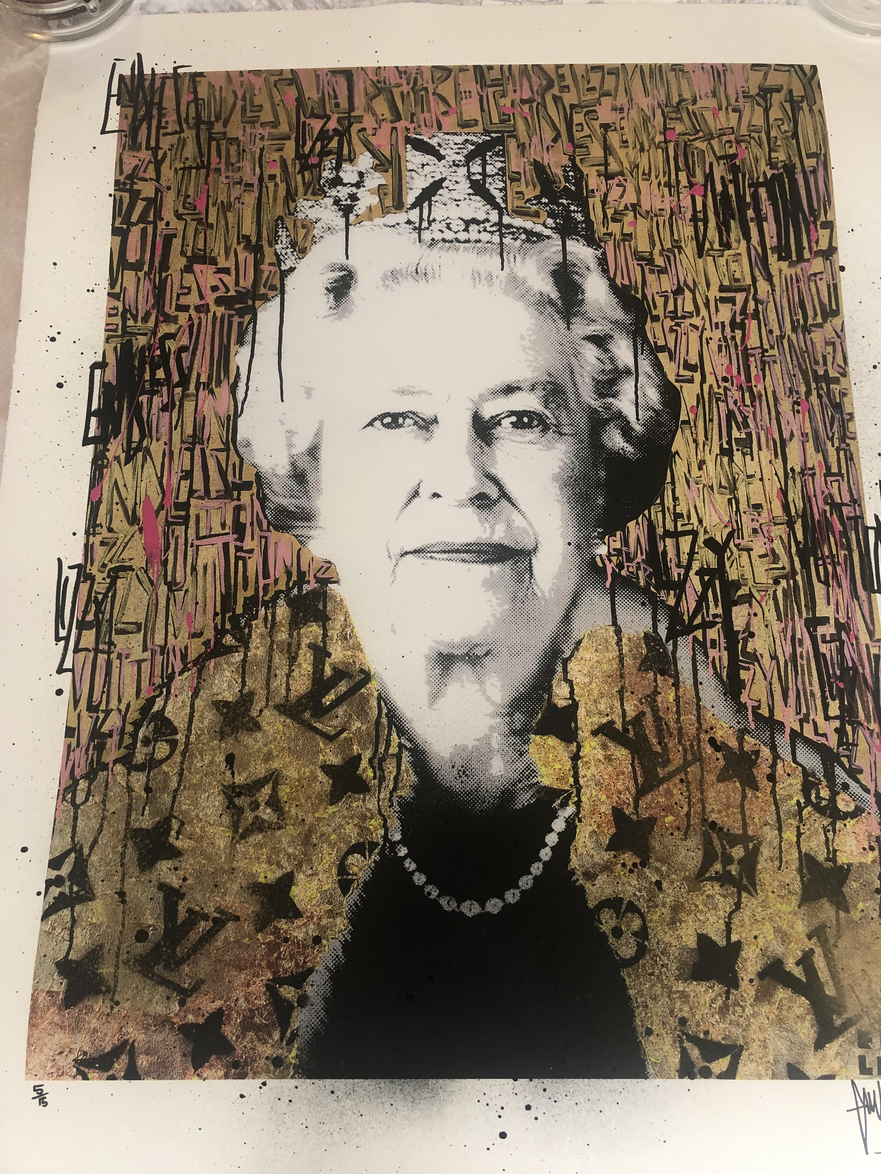 Lot 6 - Endless Artist Limited Edition Print, Lizzy Vuitton Cost £2000