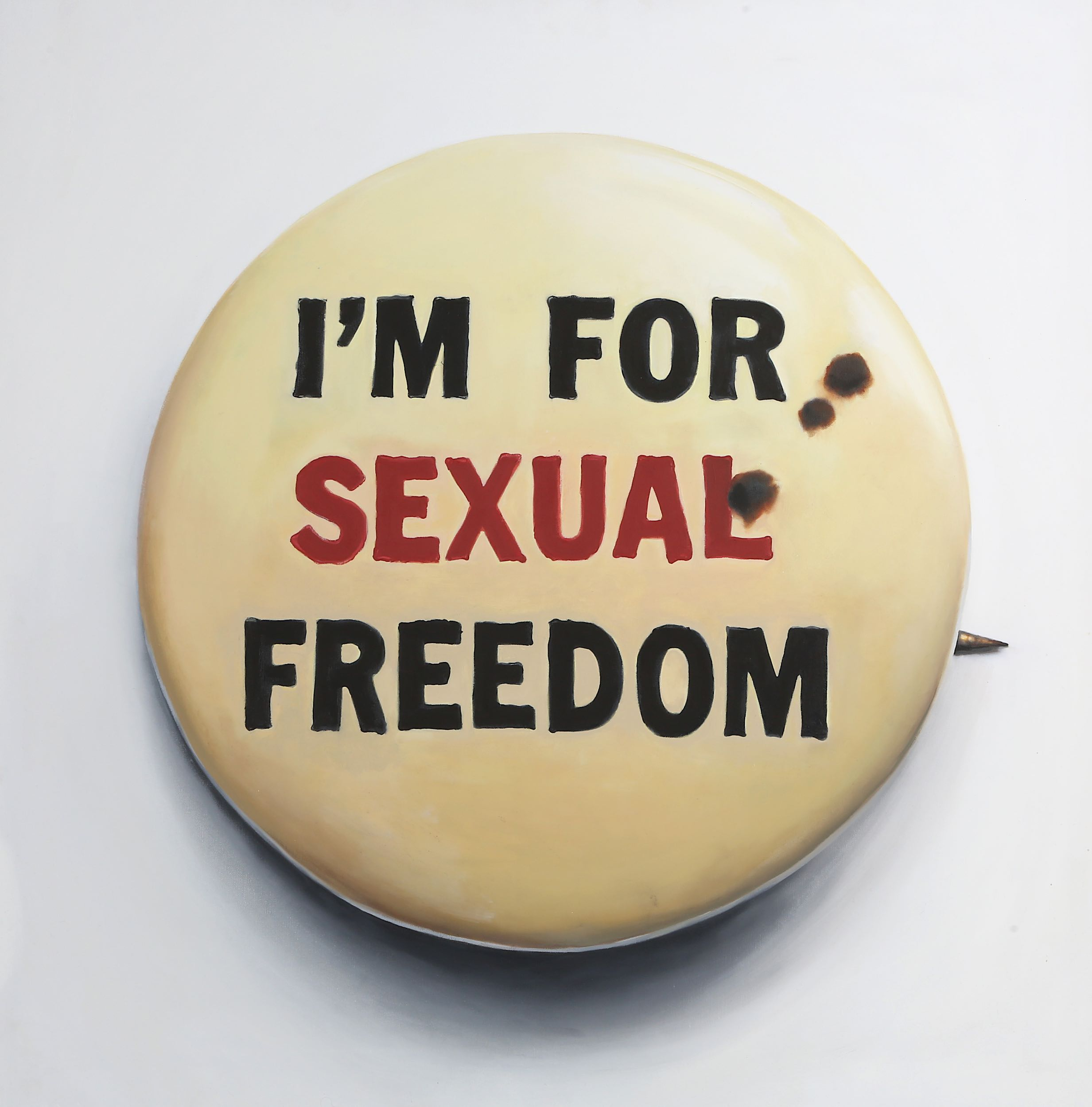 Lot 337 - Lucas Price (British b.1980), 'I'm For Sexual Freedom', 2015