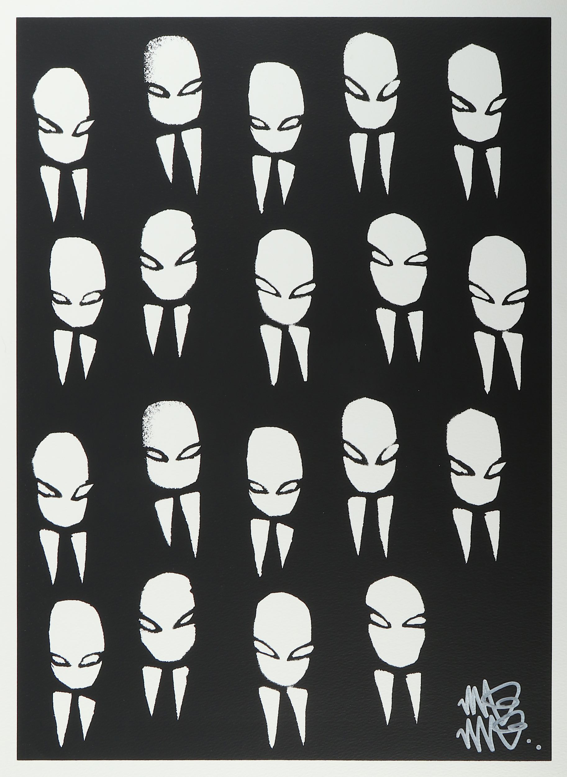 Lot 340 - Mau Mau (British), 'Business Heads', 2007