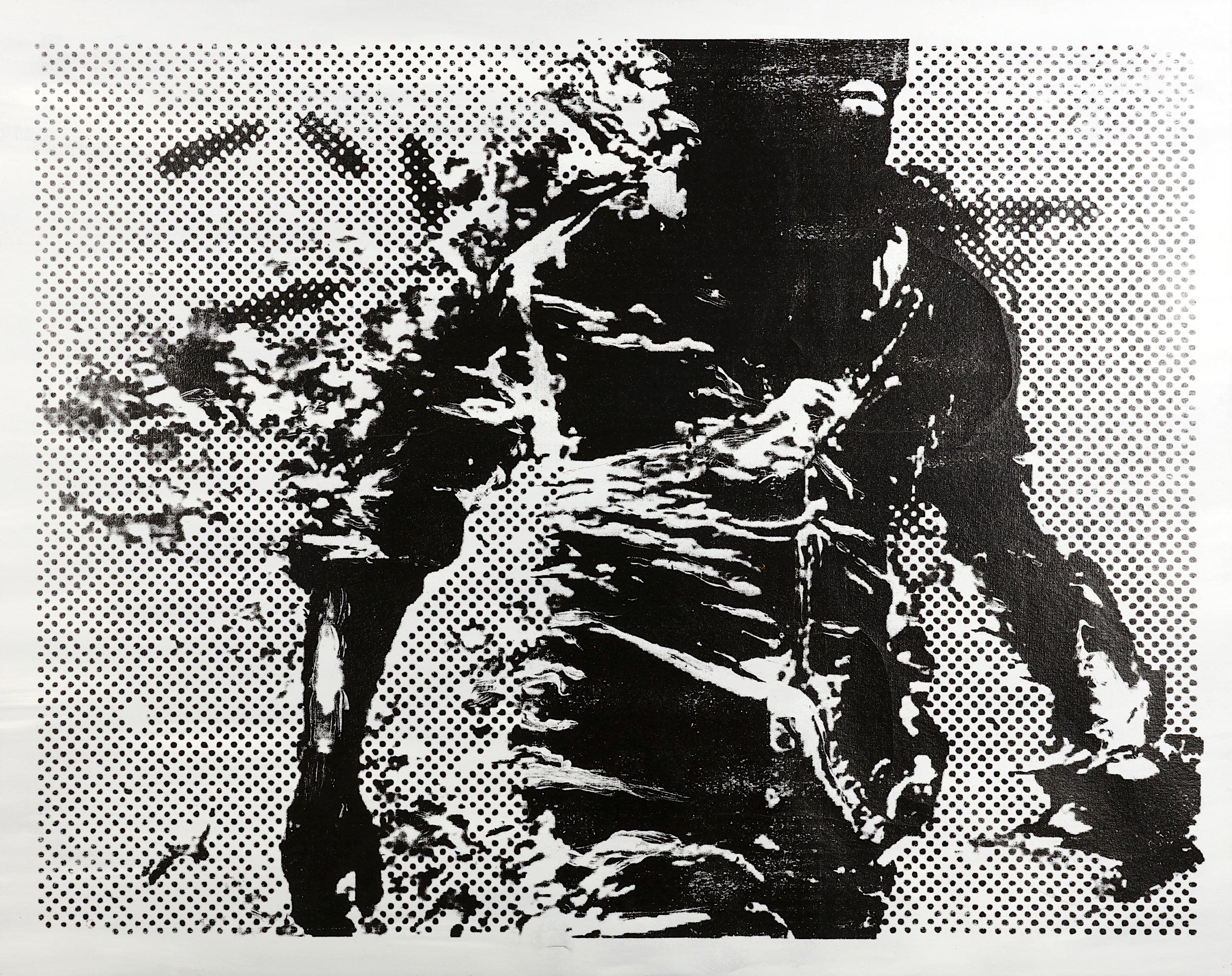 Lot 353 - Paul Insect (British b.1971), 'Burning Man', 2012