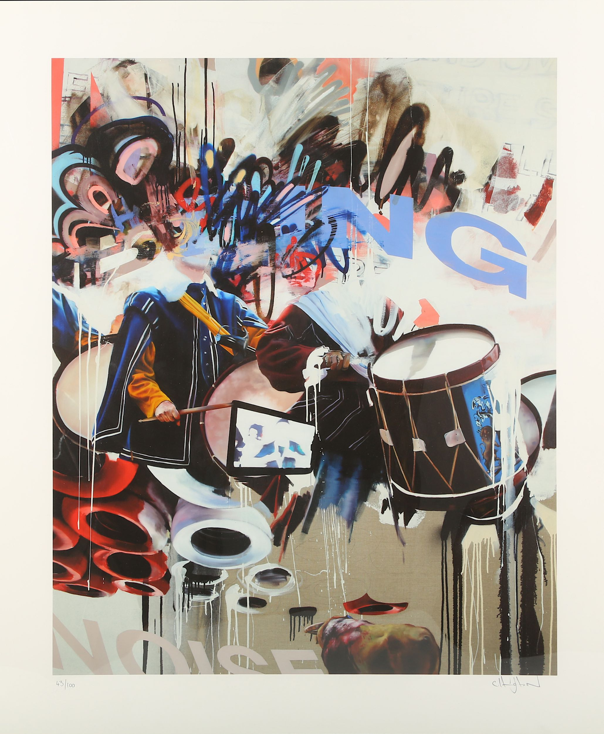 Lot 343 - Conor Harrington (British b.1980), 'Bring The Noise', 2010