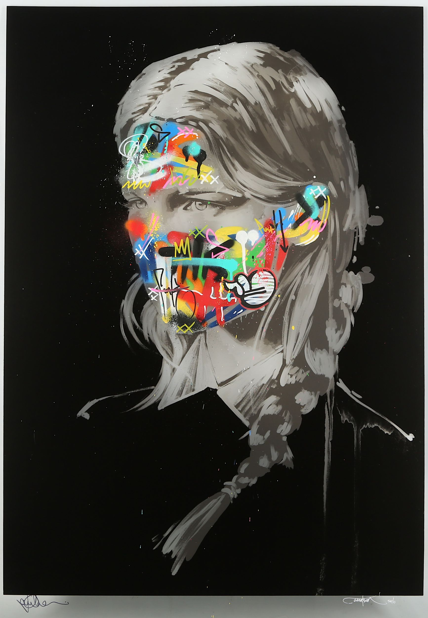 Lot 314 - Martin Whatson x Sandra Chevrier (Colab), 'La Cage Et Les Duex Ames (Hand Finished Clear Acrylic)'