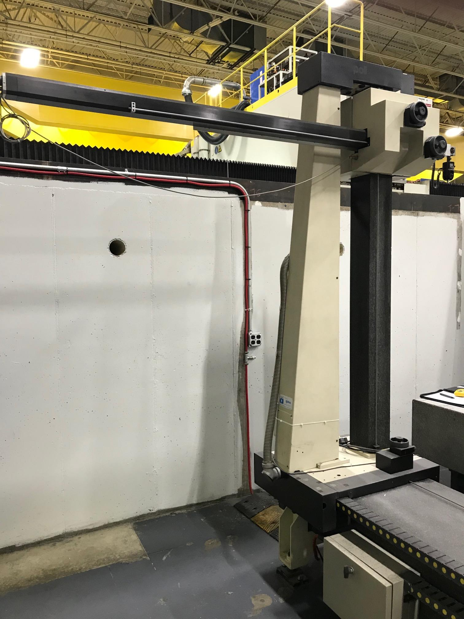 """Poli Globo Coordinate Measuring Machine with 96"""" x 48"""" Granite Surface Plate, CMM Manager Software"""
