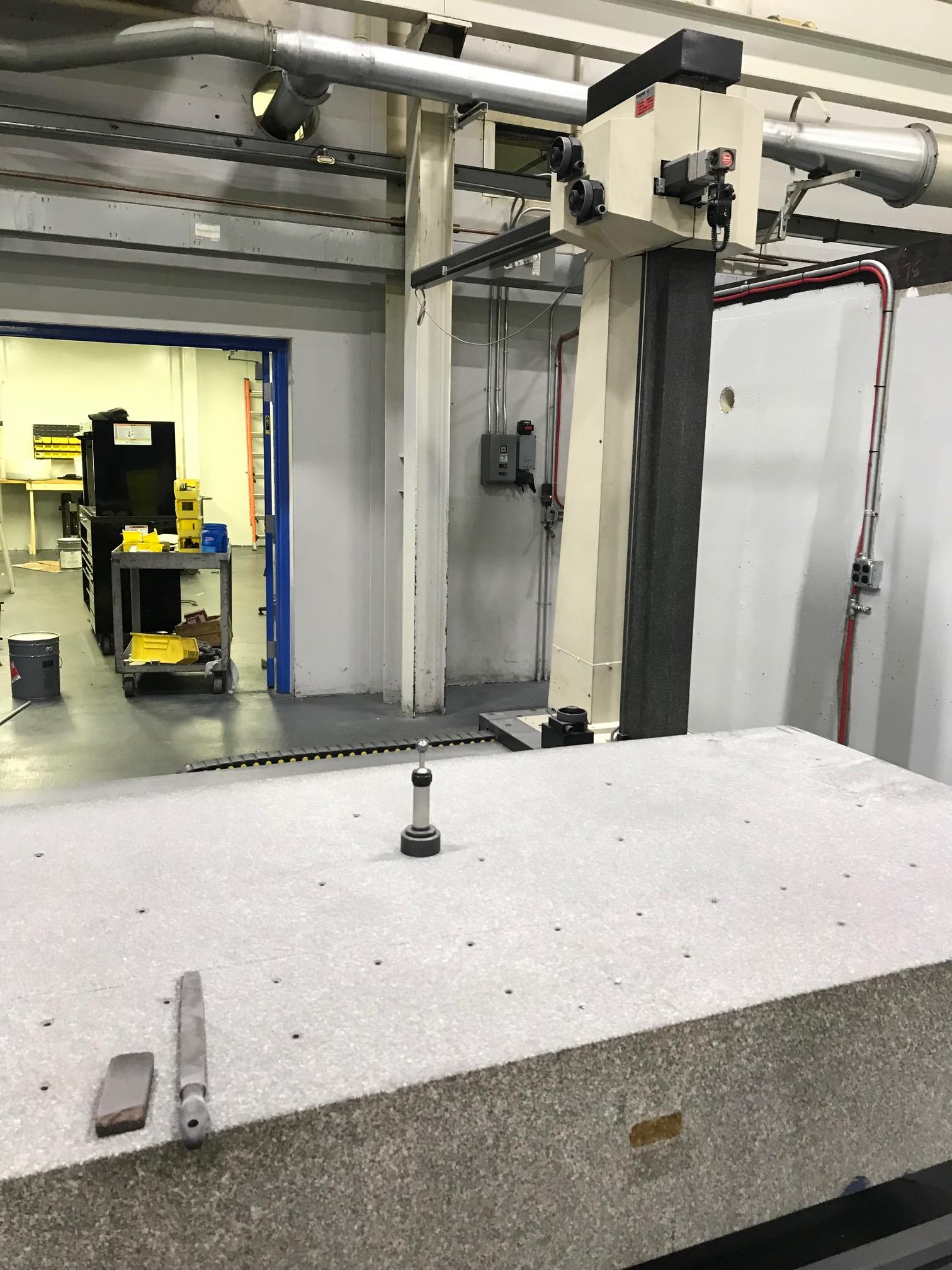 """Poli Globo Coordinate Measuring Machine with 96"""" x 48"""" Granite Surface Plate, CMM Manager Software - Image 4 of 8"""