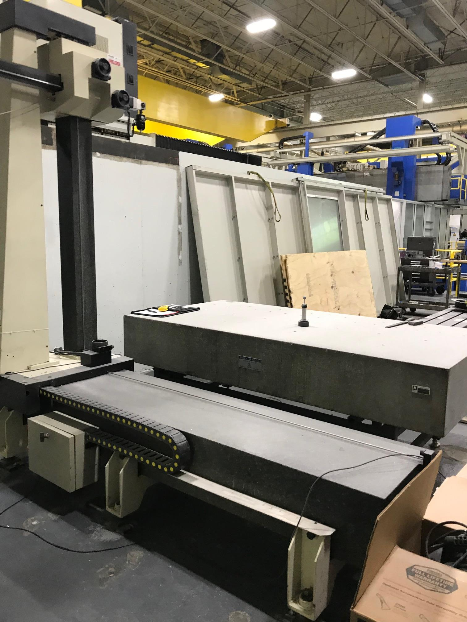 """Poli Globo Coordinate Measuring Machine with 96"""" x 48"""" Granite Surface Plate, CMM Manager Software - Image 3 of 8"""